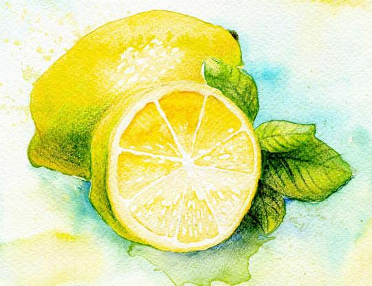 Vitamin C in Zitronen
