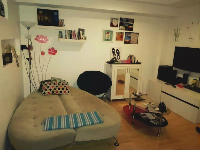 Apartment in Phuket | homestay: Living-Room with Sofa-Bed