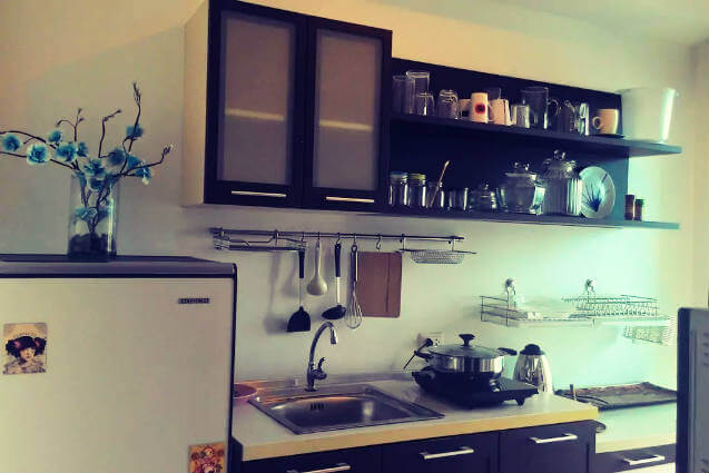 Holiday Flat - Housing in Phuket fully equipped - Kitchen