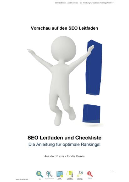 SEO-Checkliste Vorschau zum Download als PDF