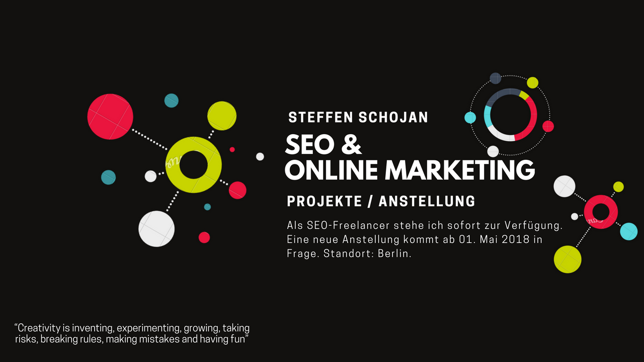 Steffen Schojan SEO Online Marketing