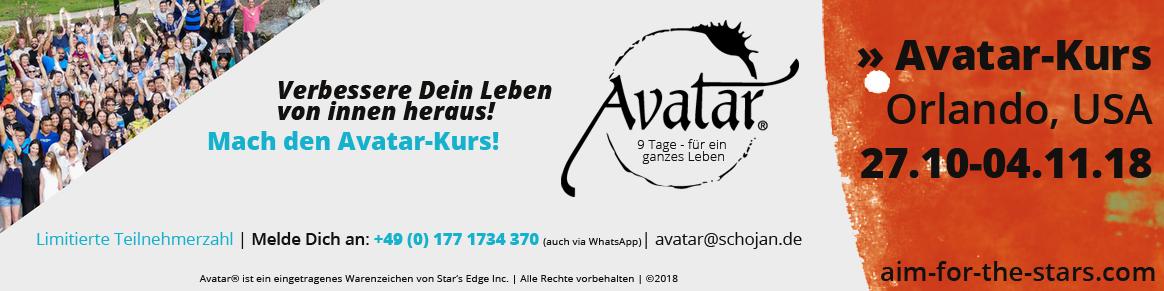 Avatar-Kurs-Banner - Berg en Dal 09/17