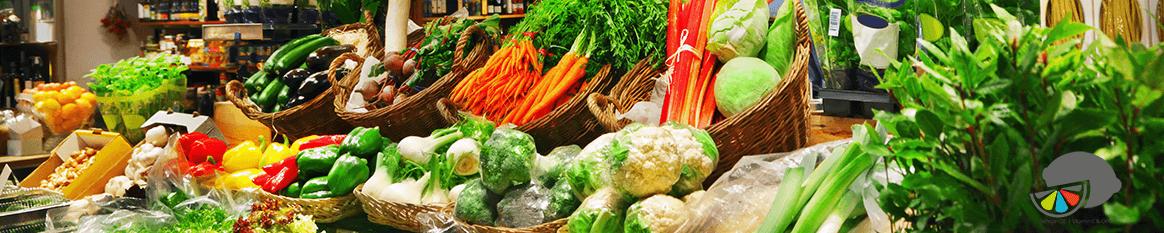 gesund ernähren mit Obst und Gemüse