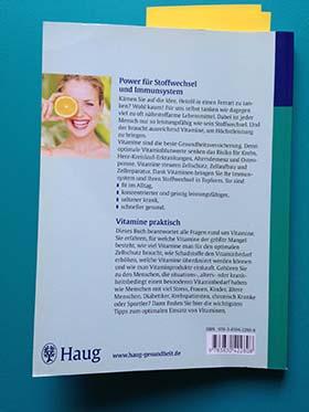 Risikofakto Vitaminmangel - Buch