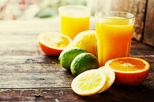 Vitamin B8 - Inositol-Vorkommen in Lebensmitteln (Zitrusfruechte)