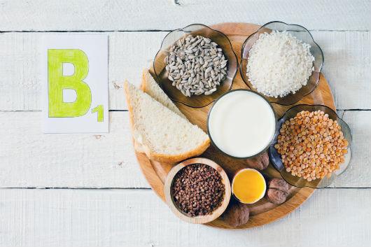 Vitamin-B1-Vorkommen in Lebensmitteln