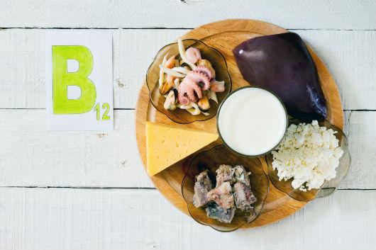 Vitamin-B12-Vorkommen in Lebensmitteln