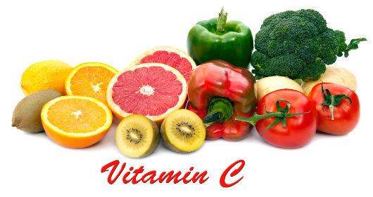 Vitamin-C-Vorkommen in Lebensmitteln
