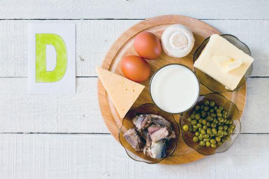 Vitamin-D-Vorkommen in Lebensmitteln