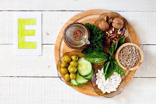 Vitamin-E-Vorkommen in Lebensmitteln