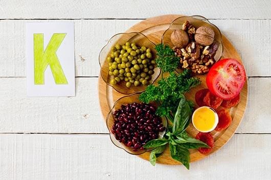 Vitamin-K-Vorkommen in Lebensmitteln