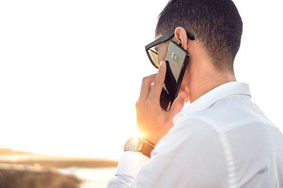 Networkmarketing kennenlernen - Anruf starten
